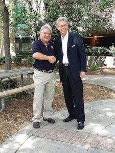 Bill Roberts at smart park