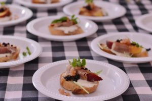 Garden Party hors d'oeuvres